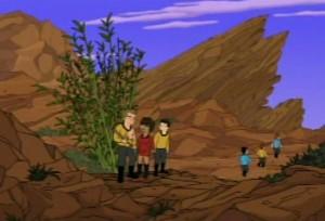 Futurama does Star Trek