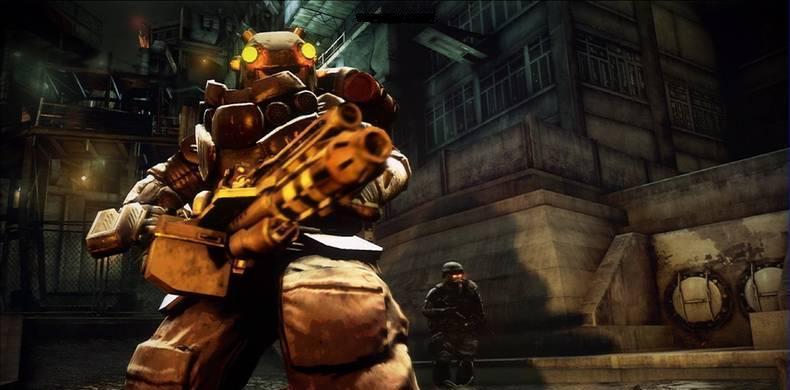 Drugged-up Mega-Machine-Gun Man