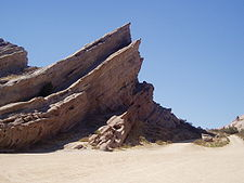 The Vasquez rocks or an alien planet?
