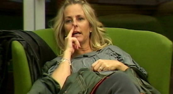 Watch Ulrika pick her nose on Celebrity Big Brother