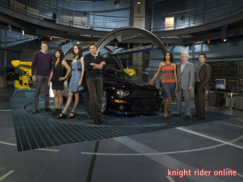 The new improved better looking cast and car.