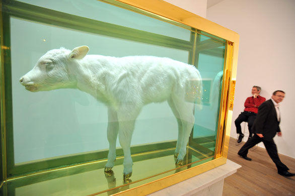 Damien-Hirst-False-Idol-2008-