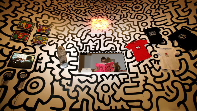 "Keith Haring's ""Pop till you drop at the Pop Shop"""