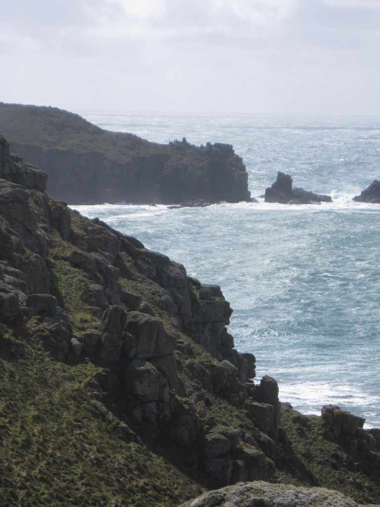 Cliffs near Land's End