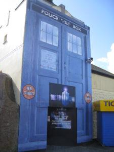 Doctor Who. Er...