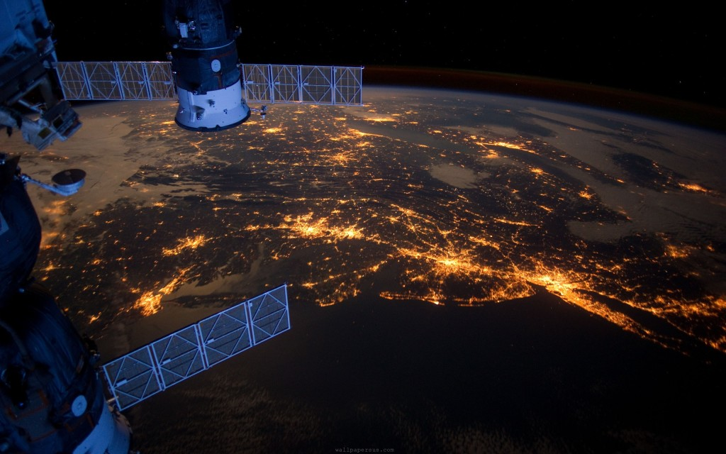 The Earth. From Space.