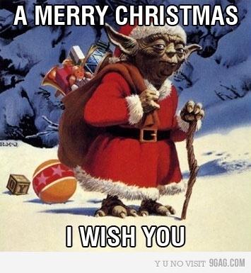 christmasYoda
