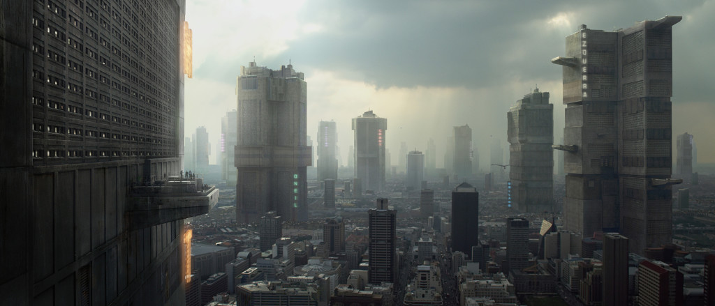 Mega City One from Judge Dredd - around 100 years from now on east coast of US