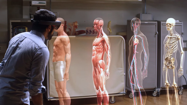 Augmented reality. Medical education is just one application.