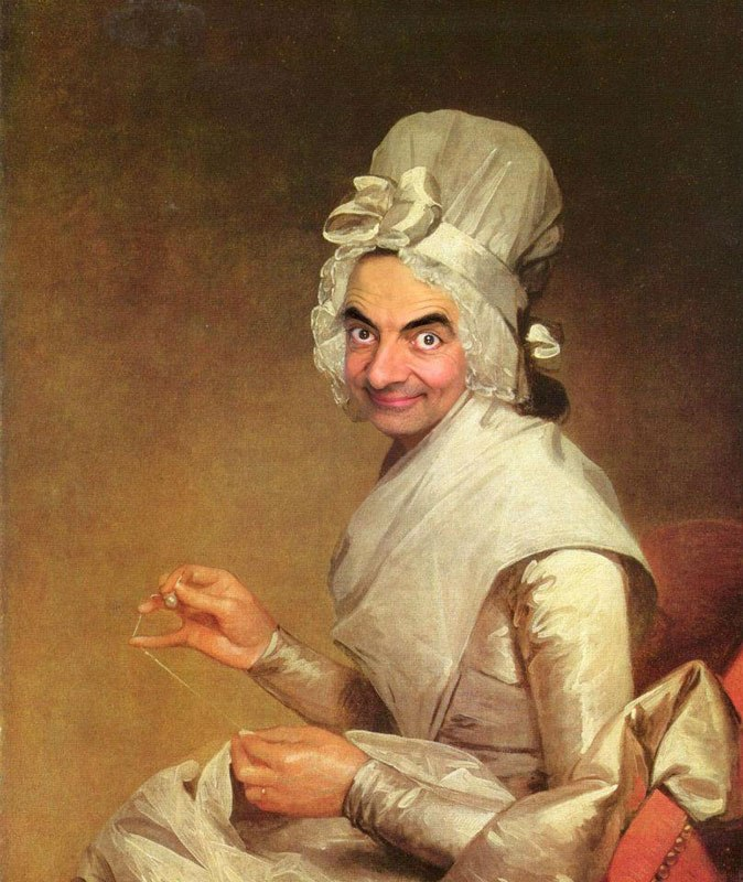 Rodney Pike Photoshop Mr Bean Into Famous Paintings 4